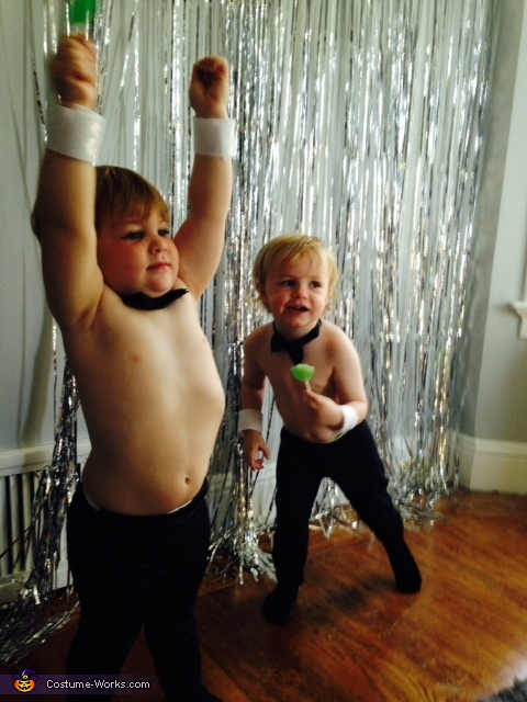 Farley & Swayze together again!, Chris Farley Chippendales Baby Costume