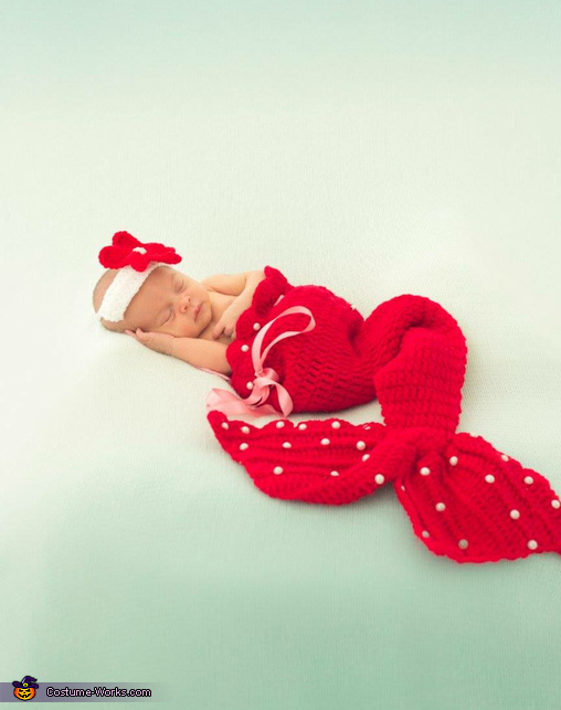 Christmas little marmaid, Christmas Little Marmaid Costume
