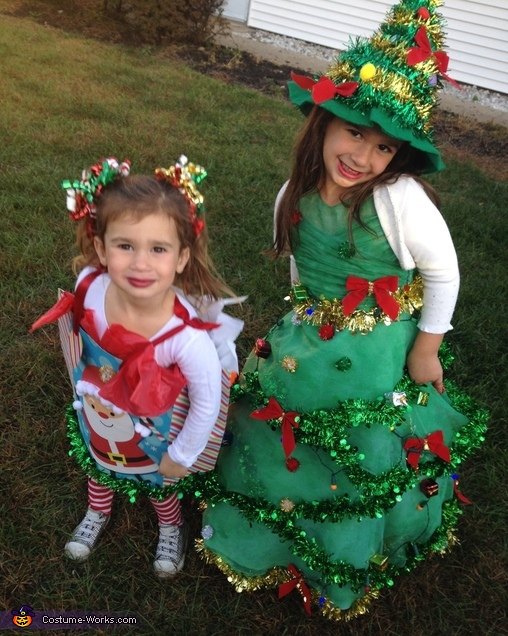Christmas tree and Christmas gift, Christmas Tree Costume