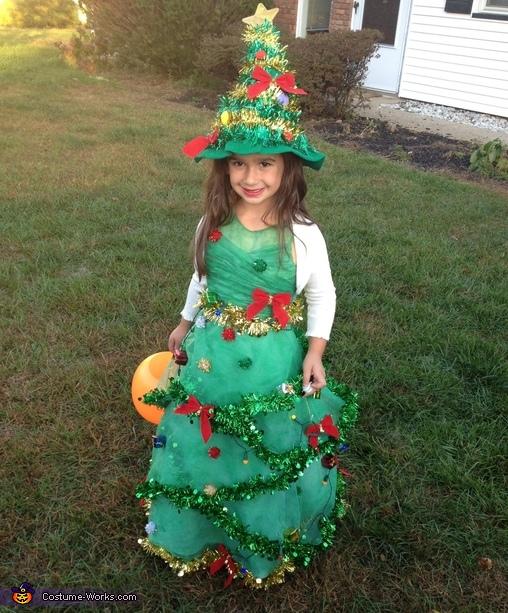 christmas tree costume diy