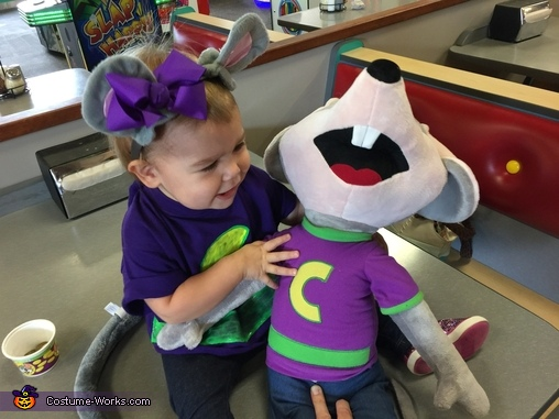 Chuck E. Cheese is so funny!!, Chuck E. Cheese Costume