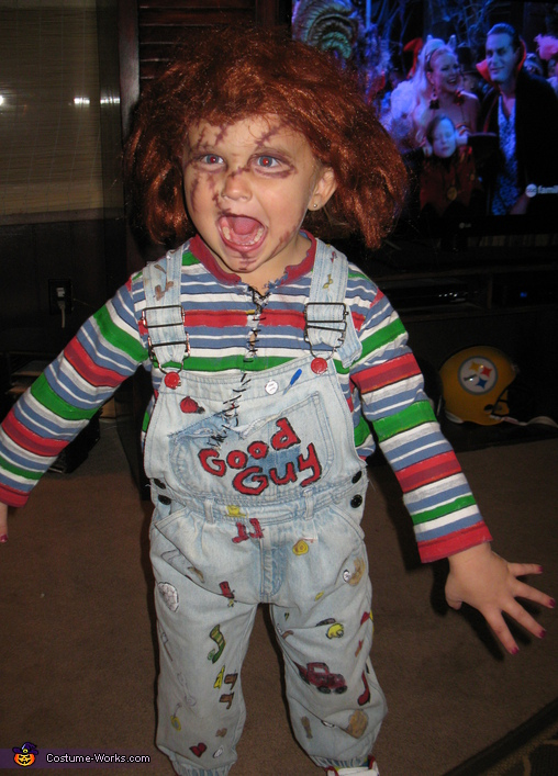Halloween makeup and face painting ideas diy chucky costume for kids solutioingenieria Gallery