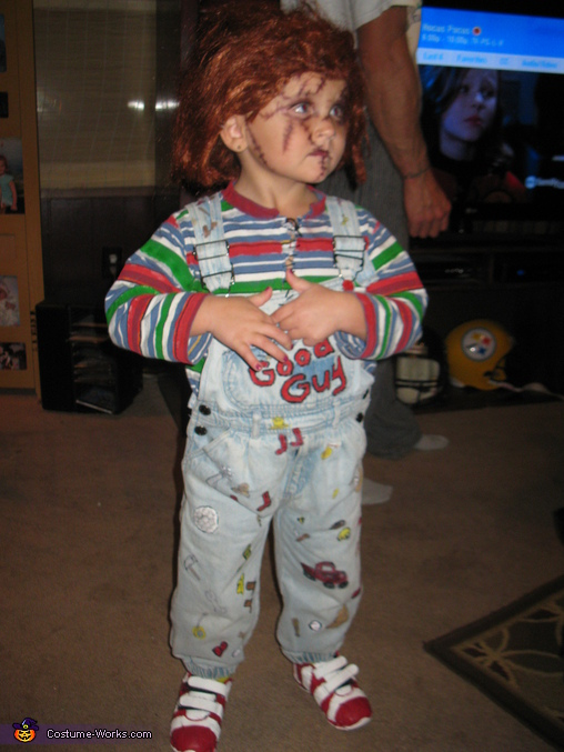 Diy chucky costume for kids photo 22 diy chucky costume for kids solutioingenieria Choice Image