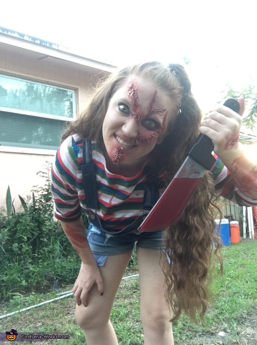 I will find you!, Chuckie Costume