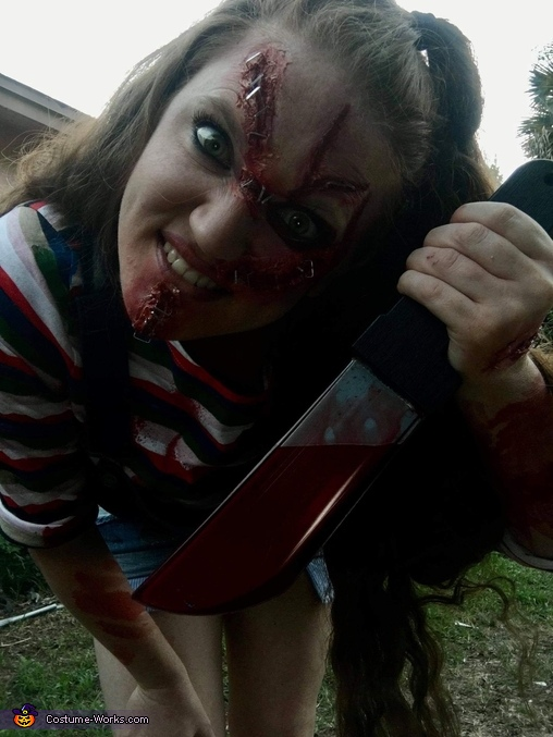 Chuckies dark side!, Chuckie Costume