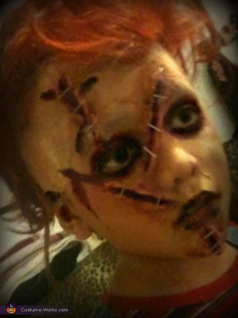 Chuckie Halloween Costume for Boys