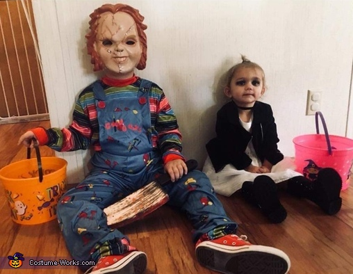 Chuckie and Wife Costume
