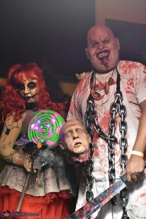 Chuckles & Broken Doll Costume