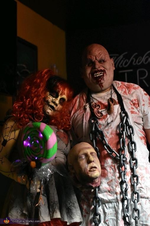 Broken Doll & Chuckles, Chuckles & Broken Doll Costume