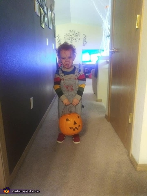 Chucky ready for candy, Chucky Costume