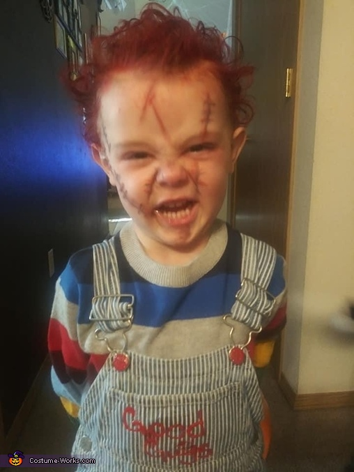 Chuckyyy, Chucky Costume