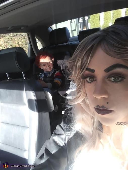 Chucky & Tiffany getting coffee, Chucky Costume