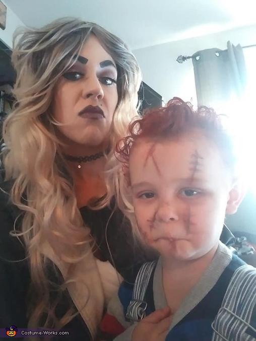 Humphhh, Chucky Costume