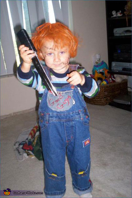 Chucky from Child's Play - Homemade costumes for boys