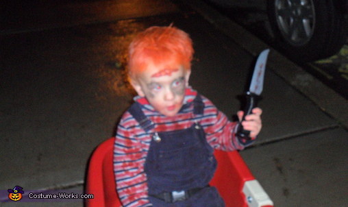 Chucky - Homemade costumes for boys