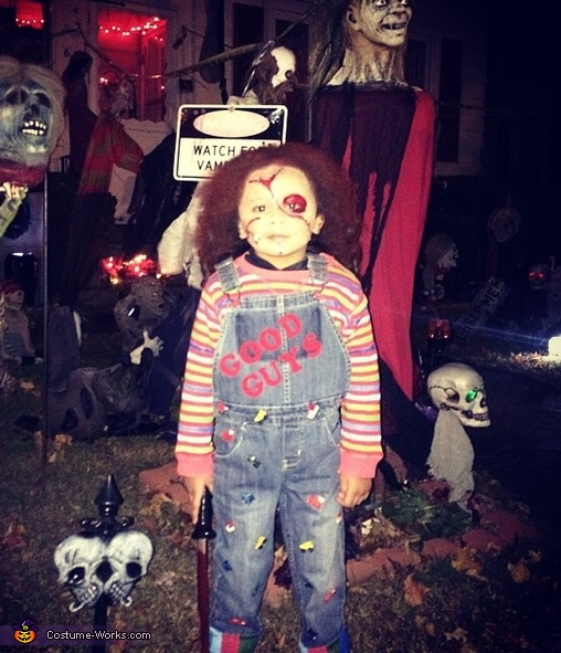 Chucky Costume for Boys