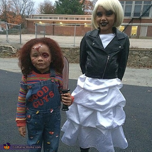 Homemade Chucky Costume for Boys