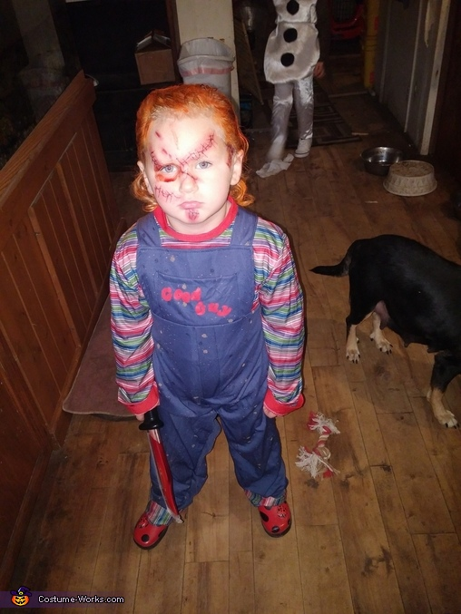 Homemade Chucky Boy's Costume
