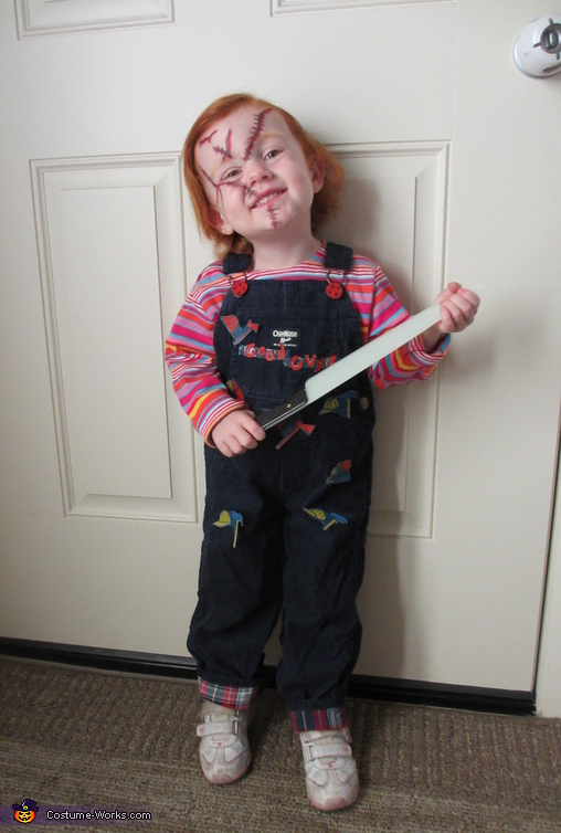 Baby Chucky Costume uk Chucky Baby Halloween Costume