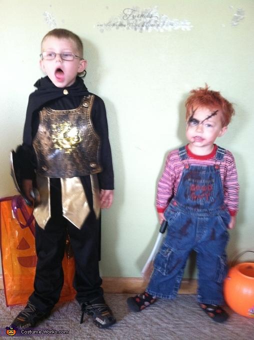Chucky Little Boy's Costume