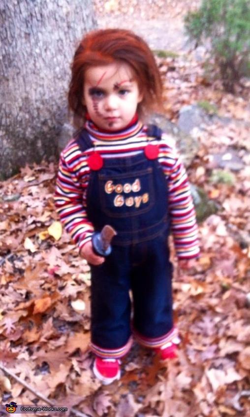 Chucky Baby Girl's Costume