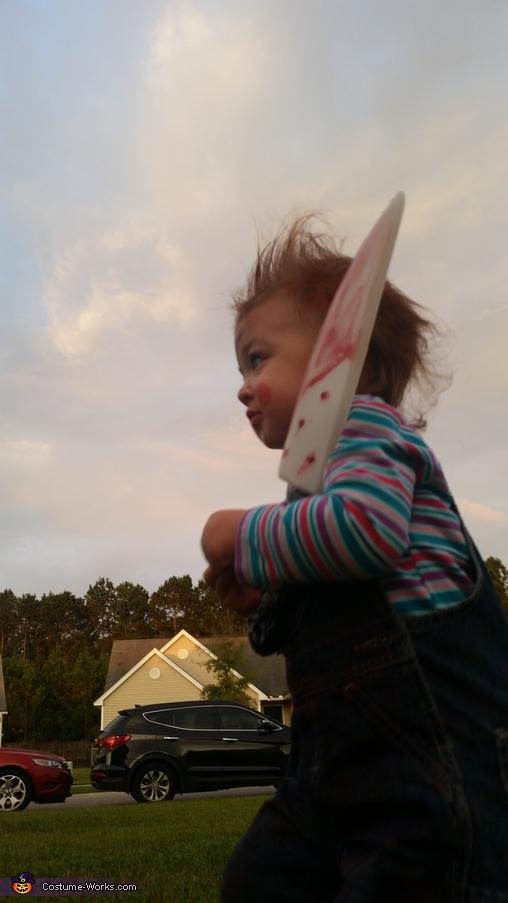 Chucky Baby Girl Halloween Costume