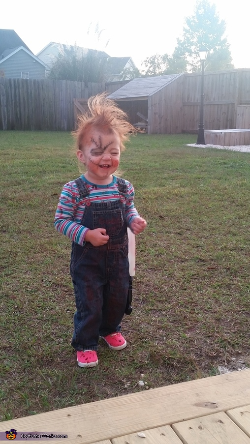 Chucky Baby Girl Halloween Costume