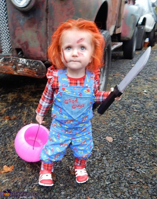 Chucky Baby Girl's Halloween Costume