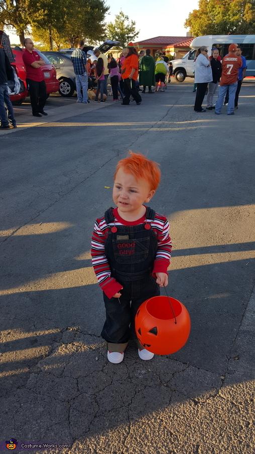 Nice chucky., Chucky Costume