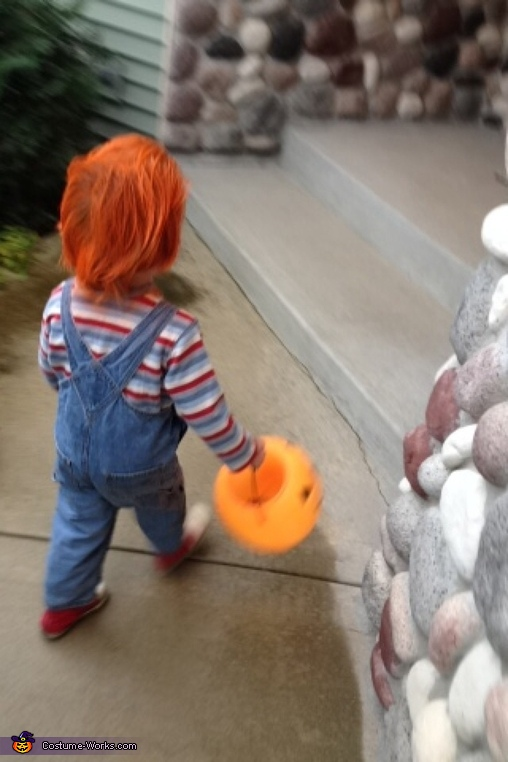 Trick or treat, Chucky Costume