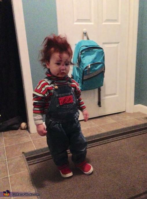 DIY Chucky Baby Costume