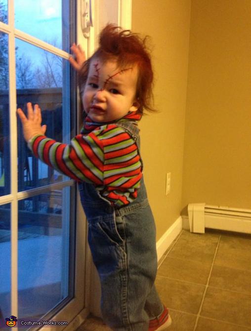 CHUCKY, DIY Chucky Baby Costume