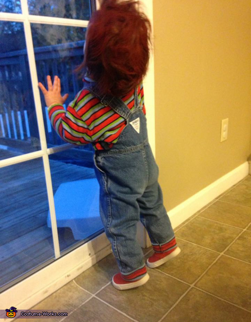 Imagine this running around!, DIY Chucky Baby Costume