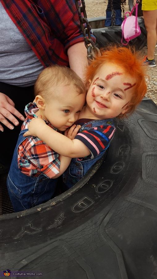 Good Guys Baby Chucky Costume