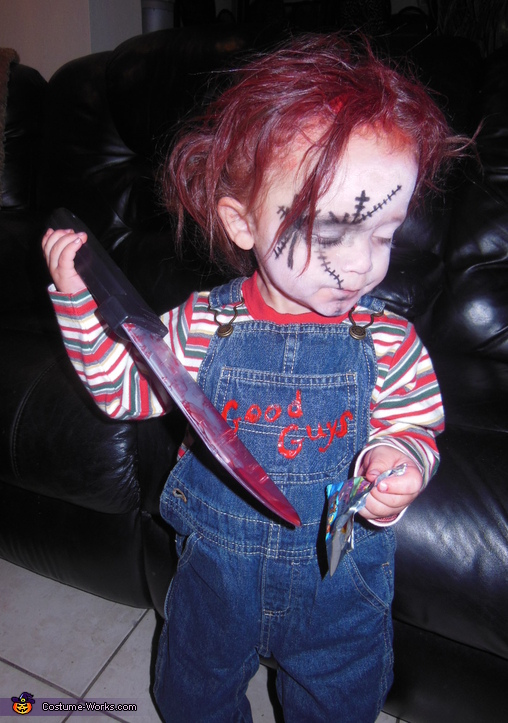 Baby Chucky Costume uk Doll Chucky Baby Costume