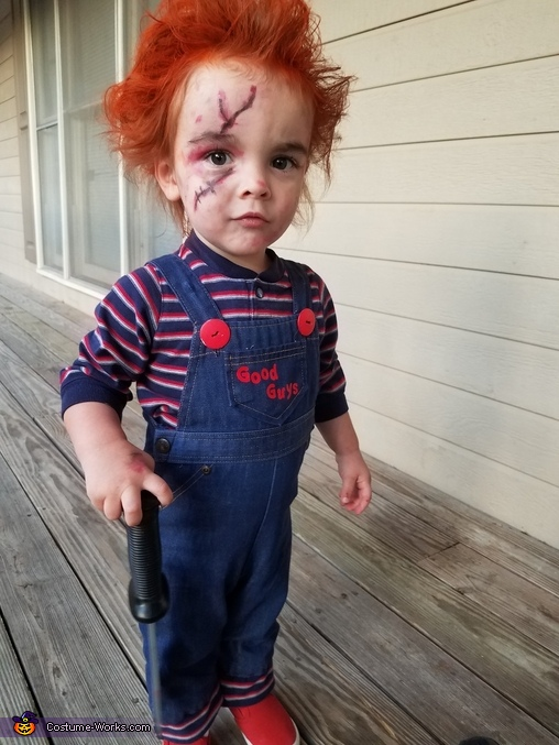 Chucky Doll Toddler Costume