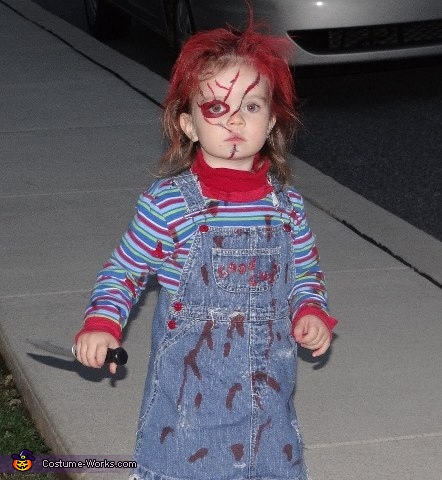 Girlie Chucky Costume