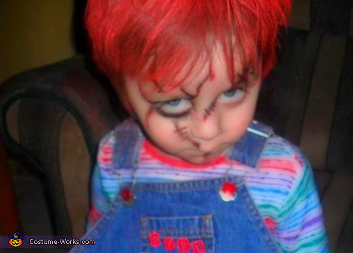 aaron being chucky, Chucky Costume