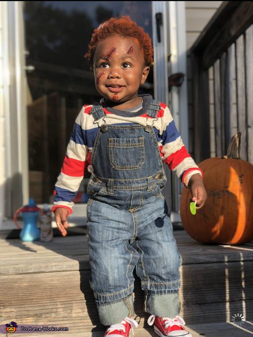 DIY Baby Chucky Costume