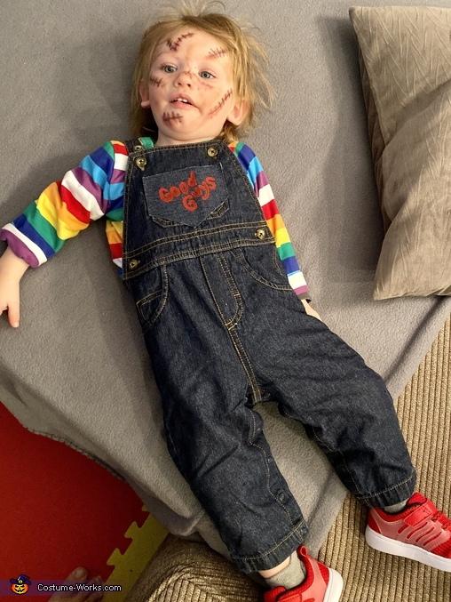 Real life Chucky doll!!!, Chucky Costume