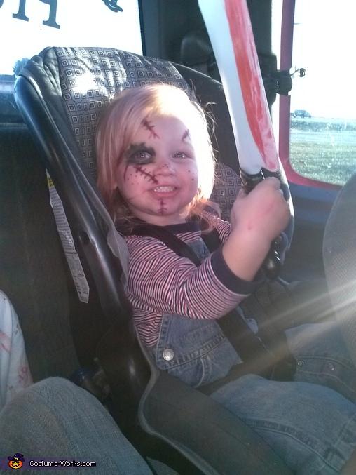 Jace 2 yrs old as chucky, Chucky Costume