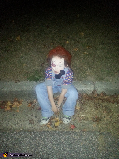 Chucky Homemade Halloween Costume