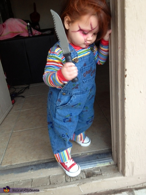 Chucky Chucky Costume  sc 1 st  Costume Works & Baby Chucky Costume - Photo 2/3