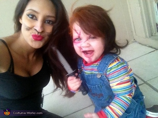 I'm a good guy(girl), Baby Chucky Costume