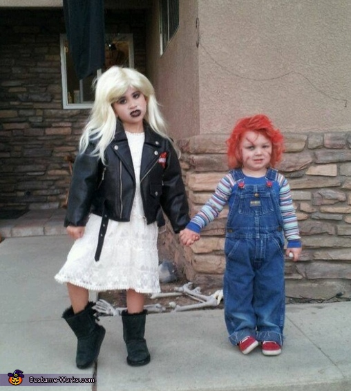 Chucky and his bride, Chucky Baby Costume