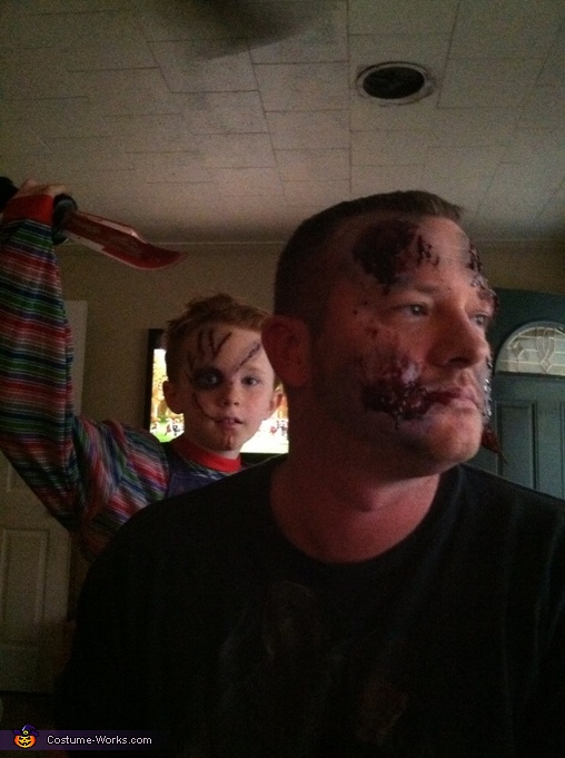 DON'T LOOK BEHIND YOU, Chucky Costume