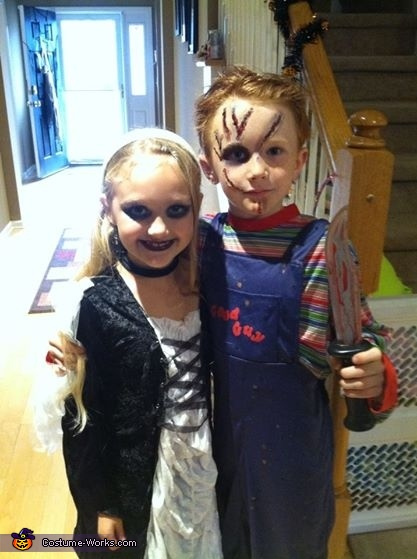 CHUCKIE AND HIS BRIDE, Chucky Costume