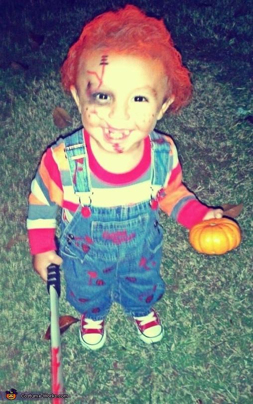 diy chucky costume