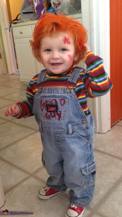 Child's Play Chucky Baby Costume