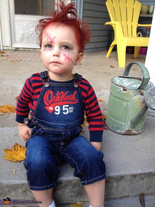 Diy Chucky Costume For Adults Diy Chucky Costume